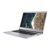 "Acer Chromebook 514 CB514-1H-P09A - Pentium N4200 / 1.1 GHz - Chrome OS - 4 GB RAM - 32 GB eMMC - 14"" TN 1366 x 768 (HD) - HD Graphics 505 - Wi-Fi, Bluetooth - pure silver - kbd: UK"
