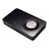 ASUS Xonar U7 MKII - Sound card - 24-bit - 192 kHz - 114 dB SNR - 7.1 - USB 2.0 - CM6632AX