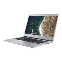 "Acer Chromebook 514 CB514-1H-P5EL - Pentium N4200 / 1.1 GHz - Chrome OS - 4 GB RAM - 64 GB eMMC - 14"" IPS 1920 x 1080 (Full HD) - HD Graphics 505 - Wi-Fi, Bluetooth - pure silver - kbd: UK"