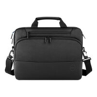 "Dell Premier Briefcase 15 - Notebook carrying case - 15"" - black with metal logo"