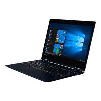 "Dynabook Toshiba Portégé X20W-E-13U - Flip design - Core i7 8550U / 1.8 GHz - Win 10 Pro 64-bit - 16 GB RAM - 512 GB SSD - 12.5"" touchscreen 1920 x 1080 (Full HD) - UHD Graphics 620 - Wi-Fi, Bluetooth - 4G - tile matte black (keyboard),"