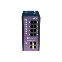 Extreme Networks ExtremeSwitching Industrial Ethernet Switches ISW 8GBP,4-SFP - Switch - Managed - 8 x 10/100/1000 (PoE+) + 4 x SFP - DIN rail mountable, wall-mountable - PoE+ (240 W) - DC power