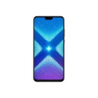 "Honor 8X - Smartphone - dual-SIM - 4G LTE - 64 GB - microSDHC slot, - microSDXC slot - GSM - 6.5"" - 2340 x 1080 pixels (397 ppi) - LTPS IPS - RAM 4 GB (16 MP front camera) - 2x rear cameras - Android - black"