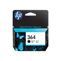 HP 364 - 6 ml - black - original - ink cartridge - for Deskjet 35XX; Photosmart 55XX, 55XX B111, 65XX, 65XX B211, 7510 C311, 7520, eStation C510