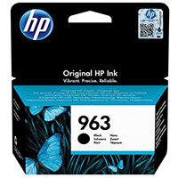HP 963 - 24.09 ml - black - original - Officejet - ink cartridge - for Officejet Pro 9010, 9012, 9013, 9014, 9015, 9016, 9019/Premier, 9020, 9022, 9023, 9025