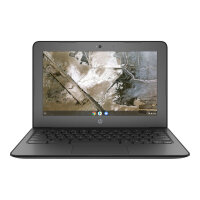 "HP Chromebook 11 G6 - Education Edition - A4 9120C / 1.6 GHz - Google Chrome OS 64 - 4 GB RAM - 16 GB eMMC - 11.6"" 1366 x 768 (HD) - Radeon R4 - Wi-Fi, Bluetooth - kbd: UK"