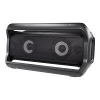 LG X-Boom Go PK7 - Speaker - for portable use - 2.0-channel - wireless - Bluetooth - 40 Watt