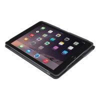 Logitech Slim Folio - Keyboard and folio case - Bluetooth - Spanish - black - for Apple 9.7-inch iPad (5th generation, 6th generation)