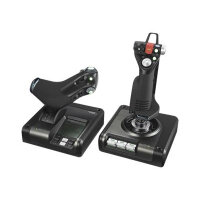 Logitech X52 Professional H.O.T.A.S. - Joystick and throttle - wired - for PC