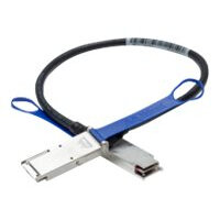 Mellanox LinkX 100Gb/s Passive Copper Cables - InfiniBand cable - QSFP to QSFP - 2.5 m - SFF-8665/IEEE 802.3bj - halogen-free, passive