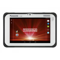 "Panasonic Toughpad FZ-B2 - Tablet - Android 6.0 (Marshmallow) - 32 GB eMMC - 7"" (1280 x 800) - barcode reader - microSD slot - 4G - LTE"