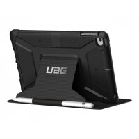 UAG Rugged Case for iPad Mini (2019) & iPad Mini 4 - Metropolis Black - Flip cover for tablet - composite - for Apple iPad mini 4; 5