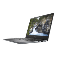 """Dell Vostro 5481 - Core i5 8265U / 1.6 GHz - Win 10 Pro 64-bit - 8 GB RAM - 256 GB SSD - 14"""" IPS 1920 x 1080 (Full HD) - UHD Graphics 620 - Wi-Fi, Bluetooth - silver - BTS - with 1 Year Dell Collect and Return Service"""