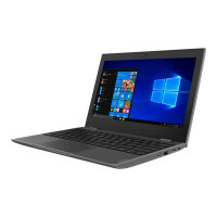 "Lenovo 100e (2nd Gen) 81M8 - Celeron N4000 / 1.1 GHz - Windows 10 Pro National Academic - 4 GB RAM - 64 GB eMMC - 11.6"" 1366 x 768 (HD) - UHD Graphics 600 - Wi-Fi, Bluetooth - black - kbd: English - United Kingdom"