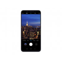 "Xiaomi MI 8 - Smartphone - dual-SIM - 4G LTE - 64 GB - CDMA / GSM - 6.21"" - 2248 x 1080 pixels (402 ppi) - AMOLED - RAM 6 GB - 2x rear cameras (2x front cameras) - Android - black"