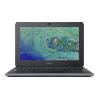 "Acer Chromebook 11 C732T-C0BL - Celeron N3350 / 1.1 GHz - Chrome OS - 4 GB RAM - 32 GB eMMC - 11.6"" IPS touchscreen 1366 x 768 (HD) - HD Graphics 500 - Wi-Fi, Bluetooth - obsidian black - kbd: UK"