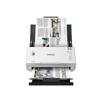 Epson DS-410 - Document scanner - Duplex - Letter - 600 dpi x 600 dpi - up to 26 ppm (mono) / up to 26 ppm (colour) - ADF (50 sheets) - up to 3000 scans per day - USB 2.0