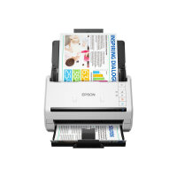 Epson WorkForce DS-770 - Document scanner - Duplex - A4 - 600 dpi x 600 dpi - up to 45 ppm (mono) / up to 45 ppm (colour) - ADF (100 sheets) - up to 5000 scans per day - USB 3.0