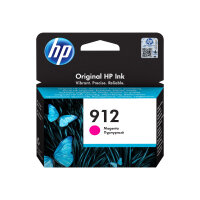 HP 912 - 2.93 ml - magenta - original - ink cartridge - for Officejet 8012, 8013, 8014, 8015; Officejet Pro 8020, 8022, 8024, 8025, 8035