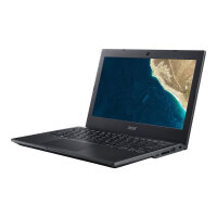 "Acer TravelMate B1 TMB118-M-C0UG - Celeron N4100 / 1.1 GHz - Win 10 Pro 64-bit National Academic - 4 GB RAM - 64 GB eMMC - 11.6"" 1366 x 768 (HD) - UHD Graphics 600 - Wi-Fi, Bluetooth - black - kbd: UK"