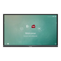 """ViewSonic ViewBoard IFP5550-2EP - 55"""" Class LED display - interactive - with touchscreen (multi touch) - 4K UHD (2160p) 3840 x 2160 - D-LED Backlight"""