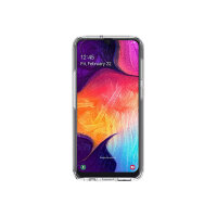 OtterBox Symmetry Series Clear - Back cover for mobile phone - polycarbonate, synthetic rubber - clear - for Samsung Galaxy A50