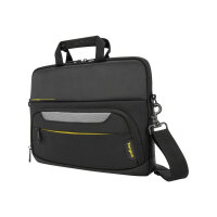 "Targus CityGear Slim Topload Laptop Case - Notebook carrying case - 14"" - black"