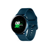 "Samsung Galaxy Watch Active - Green - smart watch with band - fluoroelastomer - display 1.1"" - 4 GB - Wi-Fi, NFC, Bluetooth - 25 g"