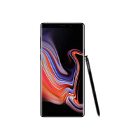 "Samsung Galaxy Note9 Enterprise Edition - Smartphone - 4G LTE - 128 GB - microSDXC slot - TD-SCDMA / UMTS / GSM - 6.4"" - 2960 x 1440 pixels (516 ppi) - Super AMOLED - RAM 6 GB (8 MP front camera) - 2x rear cameras - Android - midnight black"