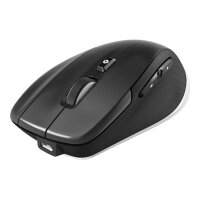 3Dconnexion CadMouse Compact Wireless - Mouse - ergonomic - right-handed - optical - 7 buttons - wireless, wired - Bluetooth, 2.4 GHz - USB wireless receiver