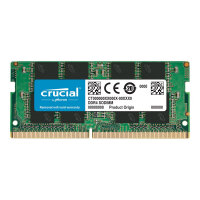 Crucial - DDR4 - 8 GB - SO-DIMM 260-pin - 3200 MHz / PC4-25600 - CL22 - 1.2 V - unbuffered - non-ECC