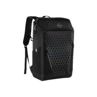 """Dell Gaming Backpack 17 - Notebook carrying backpack - 17"""" - black with rainbow reflective front panel - for Inspiron 3793, 7591 2, 7791 2-in-1; Vostro 3490, 3491, 3501, 3590, 3591, 5490; XPS 13 7390"""