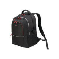 """DICOTA Backpack Plus Spin - Notebook carrying backpack - 14"""" - 15.6"""" - black"""