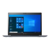 "Dynabook Toshiba Tecra A30-G-117 - Core i7 10510U / 1.8 GHz - Win 10 Pro 64-bit - 8 GB RAM - 256 GB SSD - 13.3"" 1920 x 1080 (Full HD) - UHD Graphics - Bluetooth, Wi-Fi - black with precious hairline - with 1 Year Reliability Guarantee"