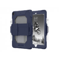 """Griffin Survivor All-Terrain - Protective case for tablet - silicone, polycarbonate - Sea - 10.2"""" - for Apple 10.2-inch iPad (7th generation)"""