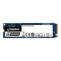 Kingston A2000 - Solid state drive - encrypted - 250 GB - internal - M.2 2280 - PCI Express 3.0 x4 (NVMe) - 256-bit AES