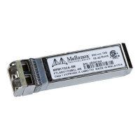 Mellanox Active Optical Modules - SFP+ transceiver module - 10 GigE - 10GBase-SR - LC multi-mode - up to 300 m - 850 nm - for BridgeX BX4010, BX4020; ConnectX EN MNPH28B-XTC