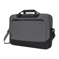 "Targus Cypress Briefcase with EcoSmart - Notebook carrying case - 15.6"" - grey"