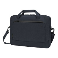 "Targus Cypress Slimcase with EcoSmart - Notebook carrying case - 14"" - navy"