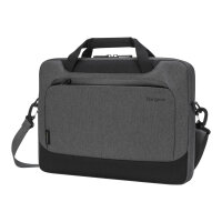 "Targus Cypress Slimcase with EcoSmart - Notebook carrying case - 15.6"" - grey"