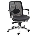 Avior Executive Mesh Back Task Chair Black KF97083
