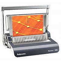 Fellowes Quasar+ 500 Manual Comb Binding Machine 5627701