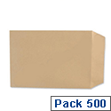 Basildon Bond C5 Brown Envelopes Peel and Seal Pocket B80189 Pack 500