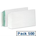 Basildon Bond C5 Envelopes White Pocket Peel and Seal Pack 500