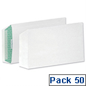 Basildon Bond C5 Recycled Envelopes White Pocket Peel and Seal B80277 Pack 50