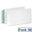 Basildon Bond C5 White 100gsm Envelopes Peel and Seal Pocket Pack 50 Ref B80277