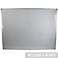 Bi-Office Whiteboard 1200x900mm Aluminium Frame MB0512170