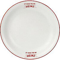 "8"" Plate 002103440 - Customise with your brand, logo or promo text"