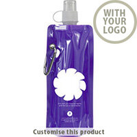 Foldable Water Bottle 002105045 - Customise With Your Logo or Text