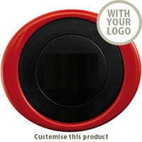Oval tumbler red 132412 - Customise with your brand, logo or promo text